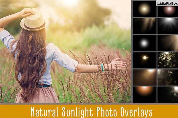 Natural Sunlight Photo Overlays