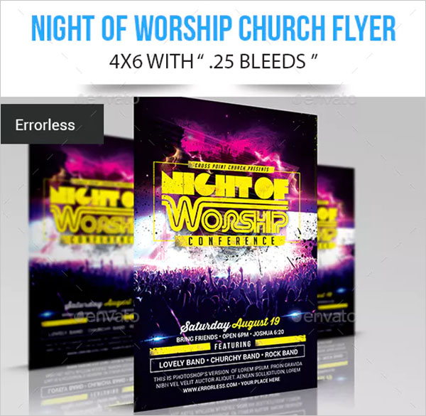 79 Worship Flyer Templates Free Premium Psd Vector Ai Downloads