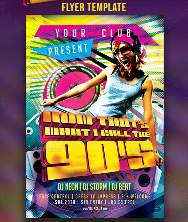 Now That's What I Call The 90's Flyer