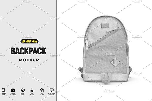 PSD Backpack Mock-up