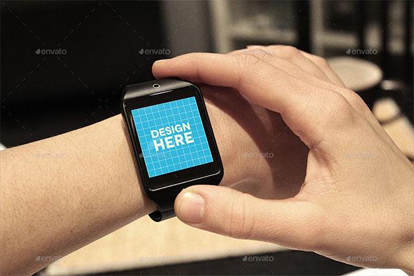 PSD Smart Watch Mockups