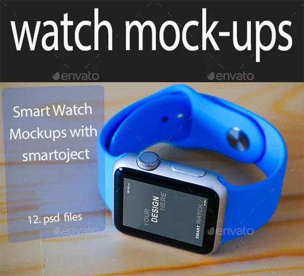 PSD Watch Mockups