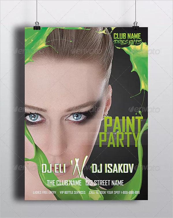 Paint Party Premium Party Flyer