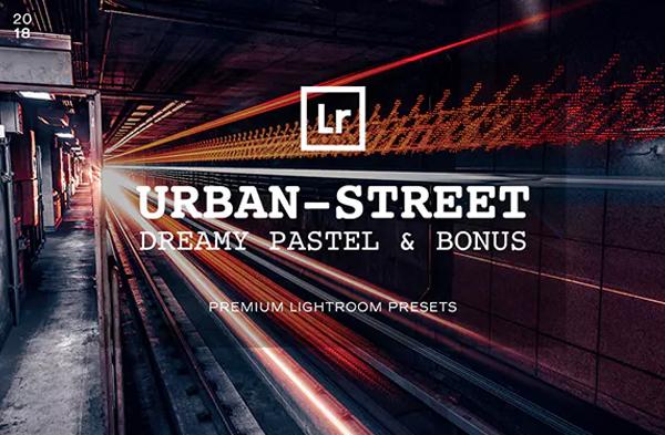 Pastel Lightroom Urban Street Presets
