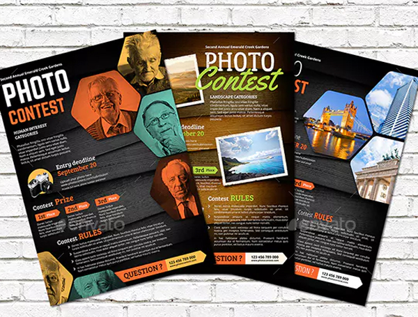 Photo Contest Flyer Print Template