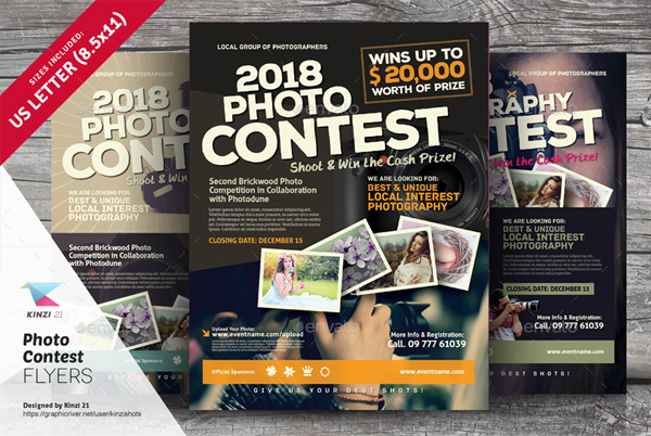 Photo Contest Flyer Templates