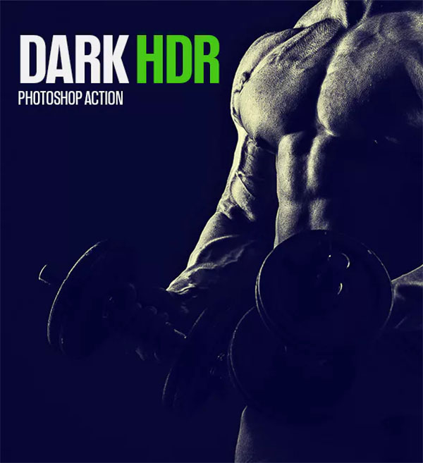 Photoshop Dark HDR Actions