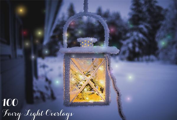 Photoshop Fairy Light Overlays