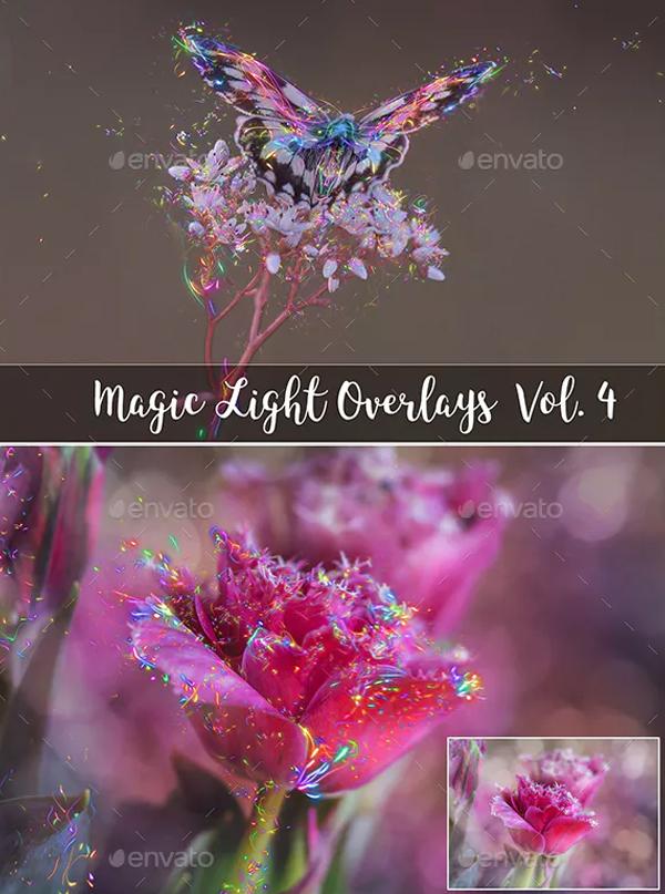 Photoshop Magic Light Overlays