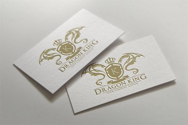 Premium Dragon King Logo
