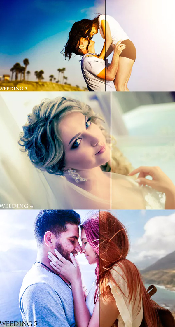 Premium Quality Wedding Lightroom Presets