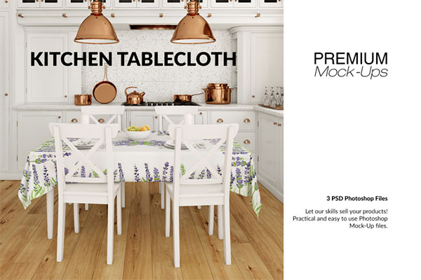 Premium Tablecloth Mockup Set