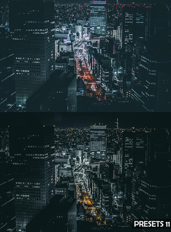 Pro Urban Cityscape Lightroom Presets