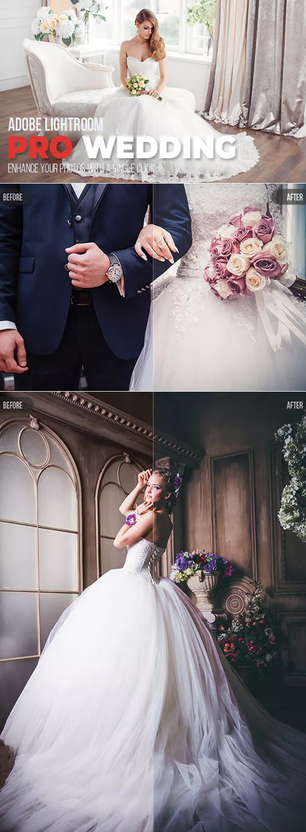 Pro Wedding Lightroom Preset
