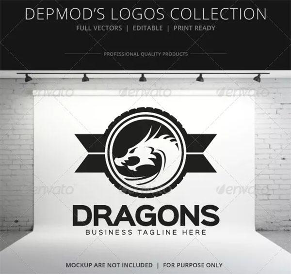 Professional Dragons Logo