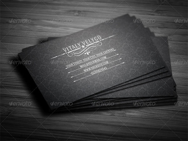 Professional Vintage Business Card
