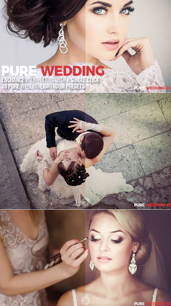 Pure Wedding Lightroom Preset