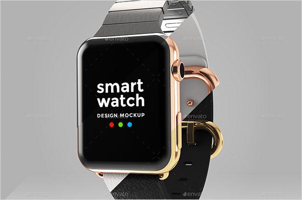 Smart Watch Design Mockup Template