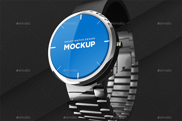 Smart Watch Design Mockup