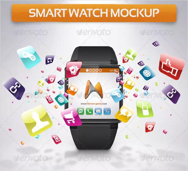 Smart Watch PSD Mockup