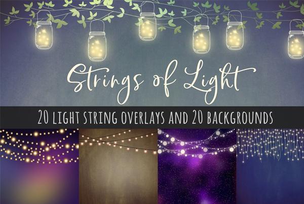 Strings of Light Overlays