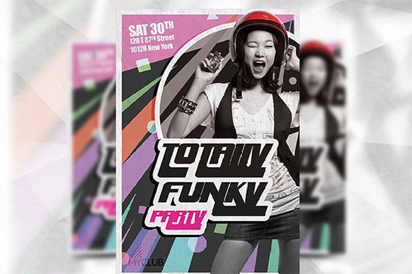 Totally Funky Flyer Templates