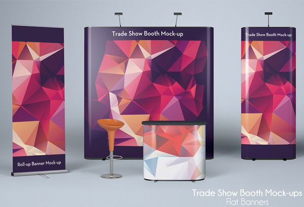 Trade Show Banners Mockup