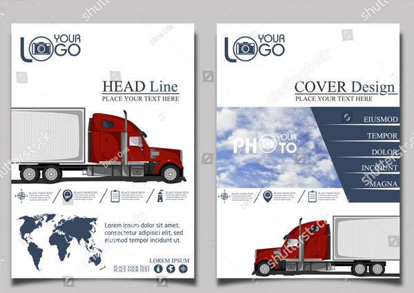 Trucking Brochure Template
