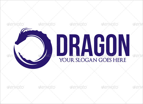 Unique Dragon Logo Design