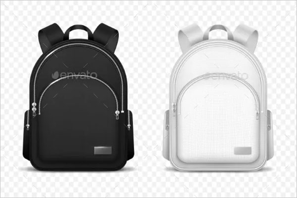 Vector School Backpack