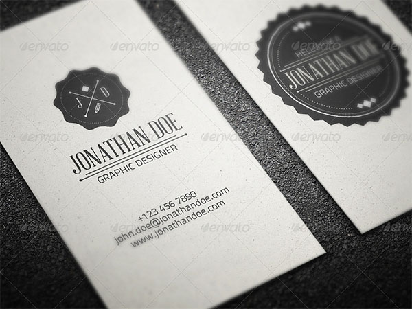 Vintage Business Design Card Template