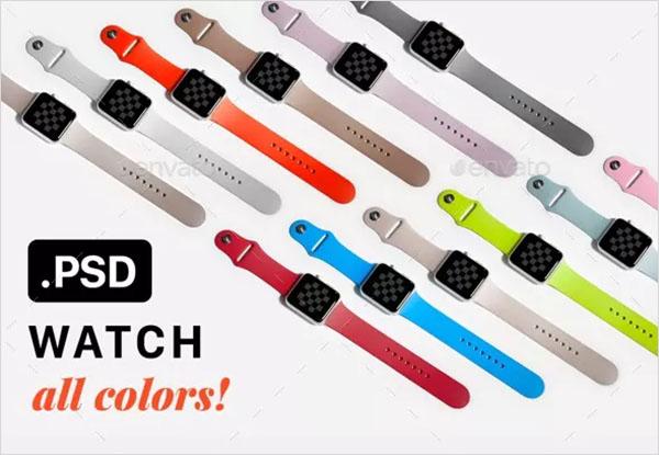 Watch Mockup Design