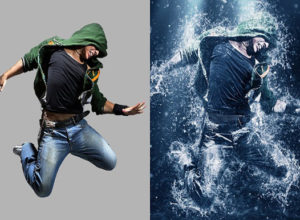 Water Photoshop Actions