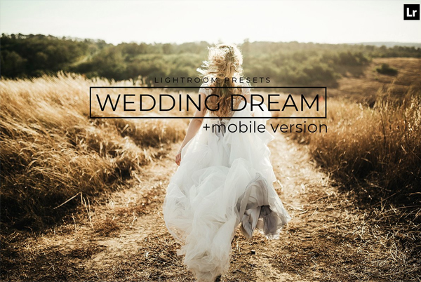 Wedding Dream Lightroom Presets