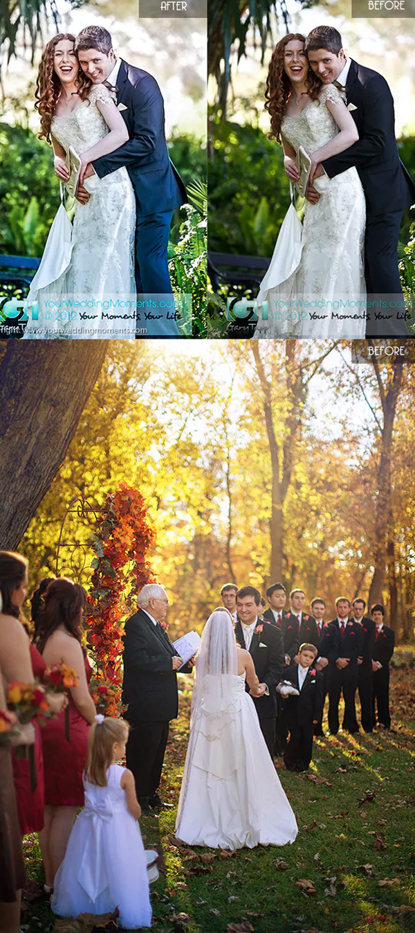 Wedding Lightroom Multiuse Presets