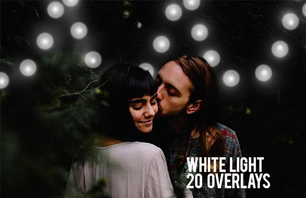 White Light Overlays