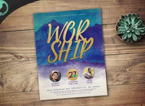 Worship Flyer Templates
