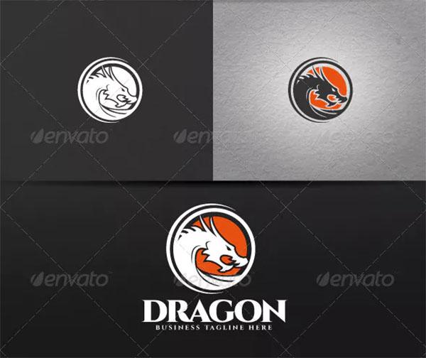 Print ready Dragon Logo