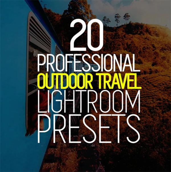 20 Travel Lightroom Presets