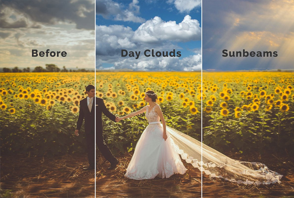 58 Sky Photoshop Overlays and Actions