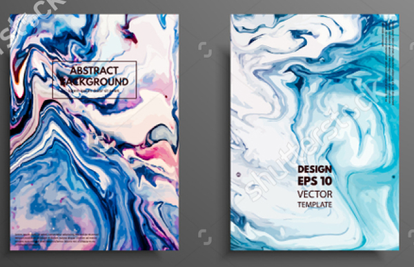 Abstract Painting Flyer Template