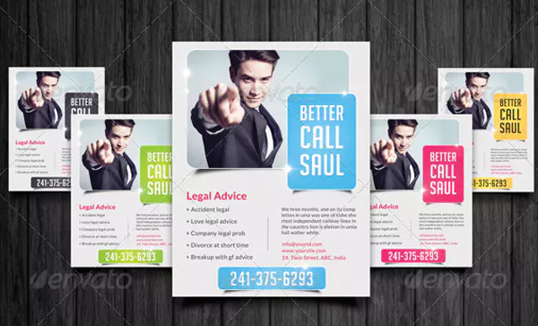 Advocate Lawyer Flyer