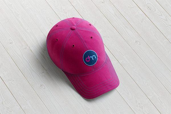 Baseball Cap Mockup Free PSD