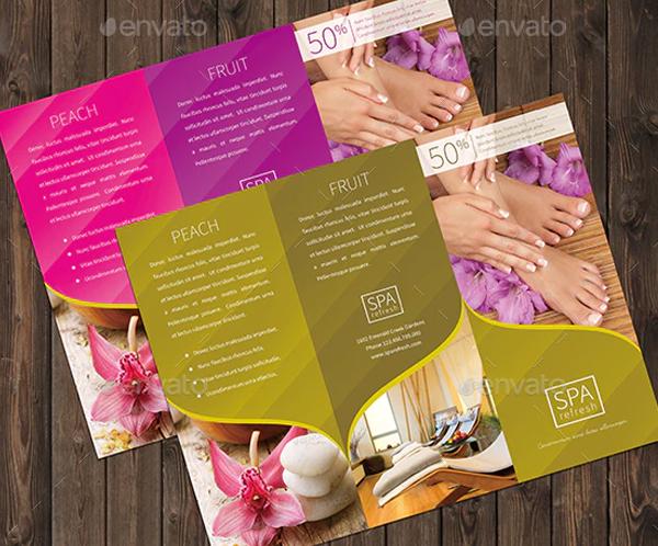 Beauty Clinic Brochure Template