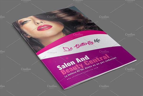 Beauty Life Care Brochure Templates