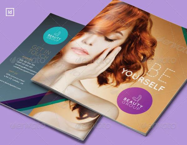 Beauty Salon Promotion Brochure