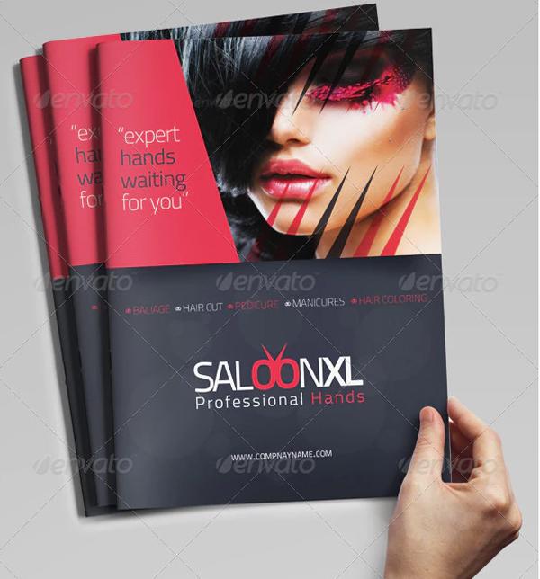 Beauty Skin Care Brochure Template