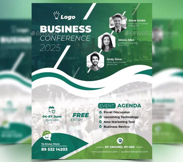 Best Conference Flyer Templates