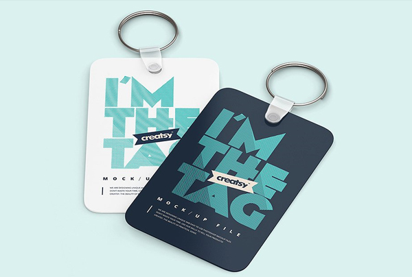 Best Free Download Keychain Mockup Templates