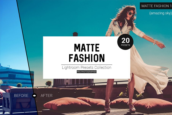 Best Matte Fashion Lightroom Presets